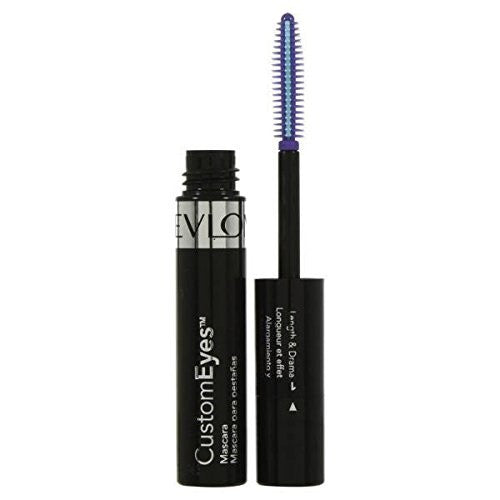 Revlon Custom Eyes Mascara Blackest Black - Look Incredible