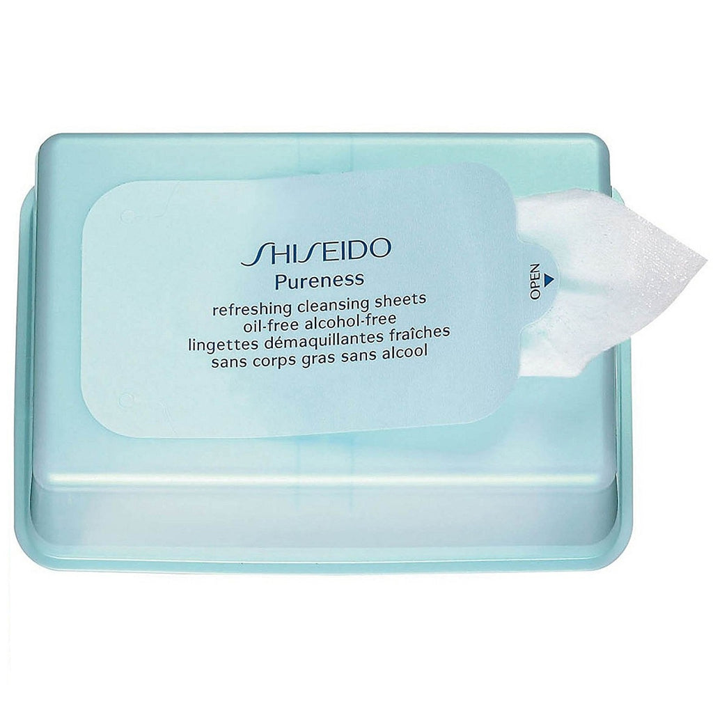 Shiseido Pureness Refreshing Cleansing Sheets - 30 Sheets