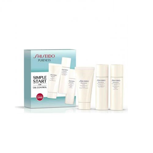 Shiseido Pureness Oil Control Deep Cleansing Set Foam Softner Moisturiser