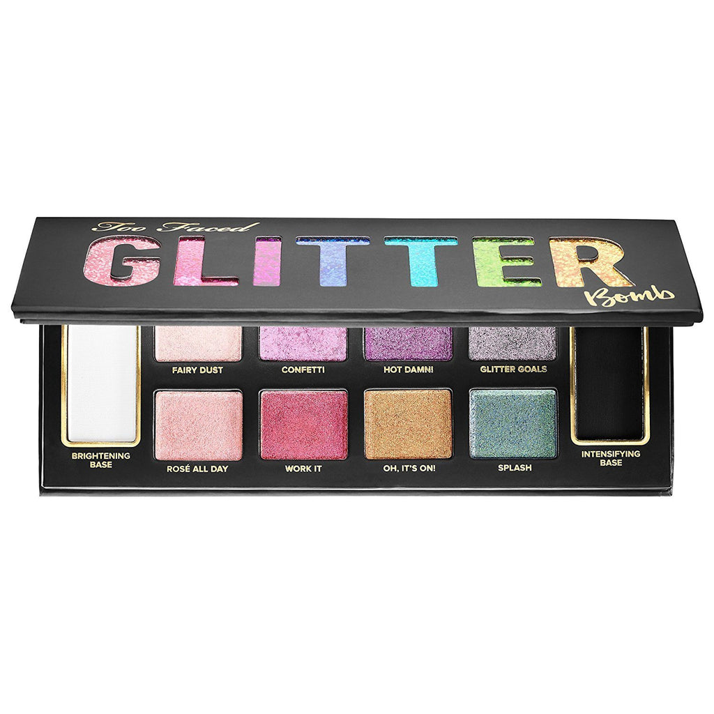 Too Faced Glitter Bomb Prismatic Glitter Eye Shadow Palette