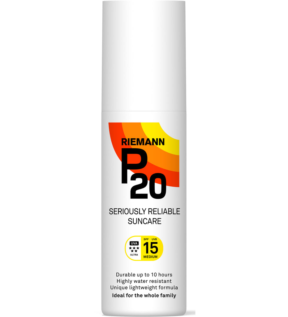 Riemann P20 Seriously Reliable Suncare Protection Spray SPF15 100ml