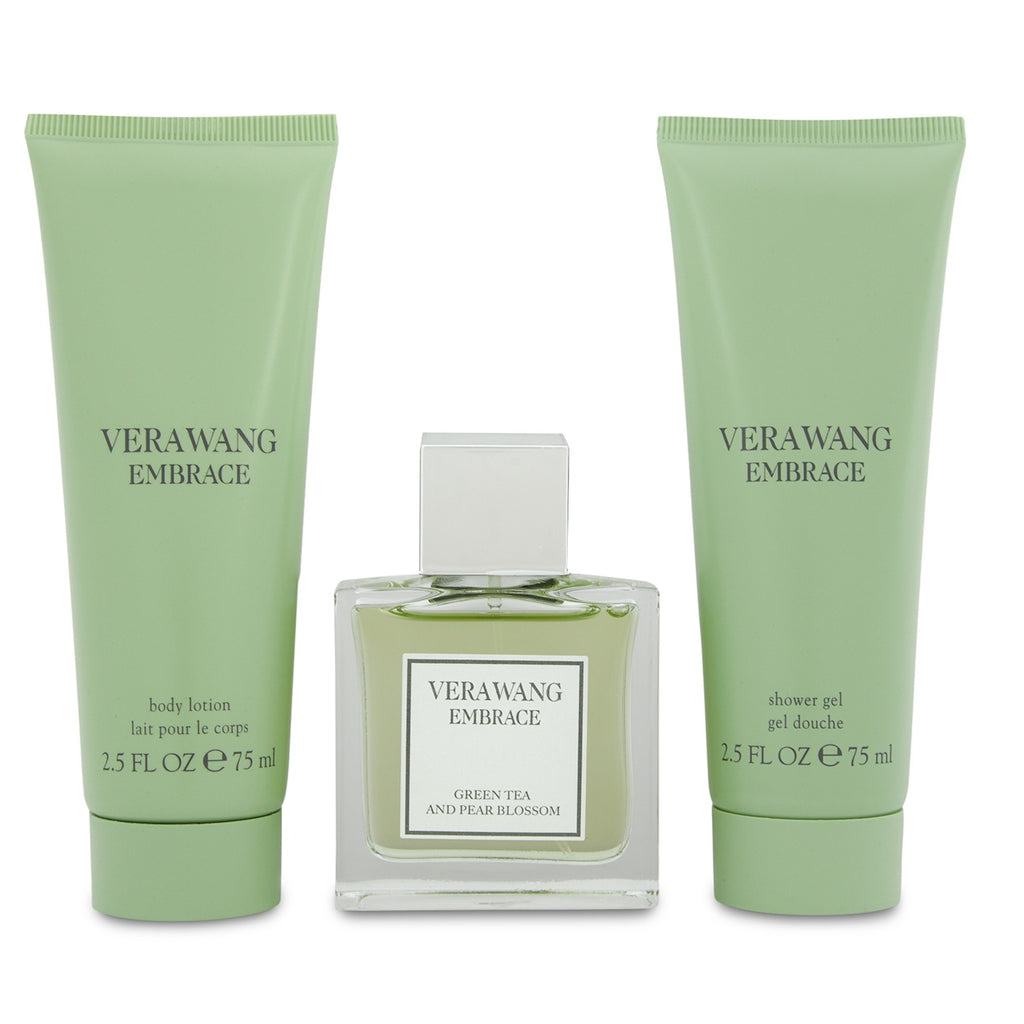 Vera Wang Embrace Green Tea & Pear Blossom Gift Set 30ml EDT + Shower Gel 75ml + Body Lotion
