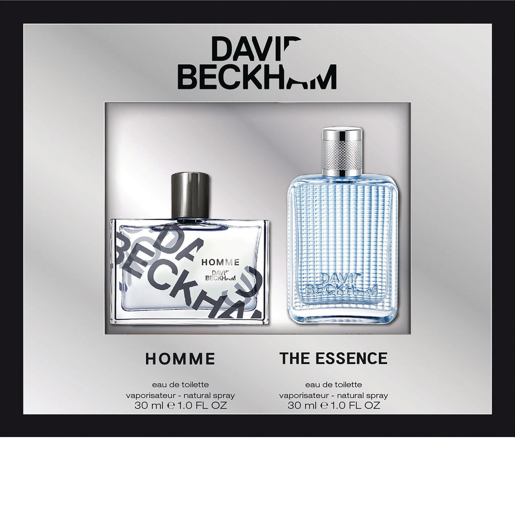 David Beckham 2 Piece Set Homme 30ml EDT + The Essence 30ml EDT