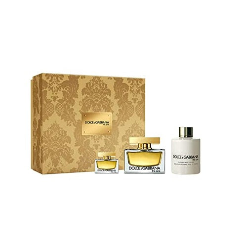 Dolce & Gabbana The One 50ml  EDP + 5ml EDP + Body Lotion 100ml