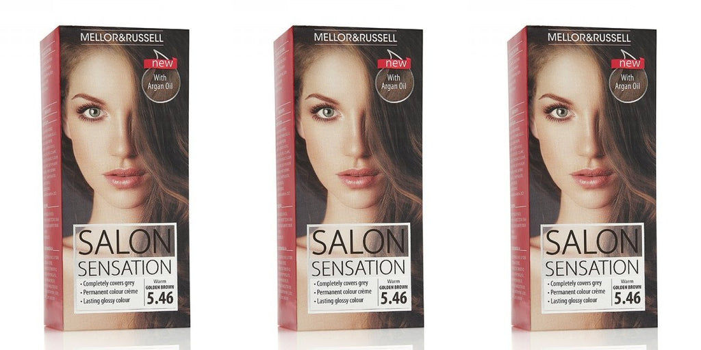 Mellor & Russell Salon Sensation Permanent Hair Colour