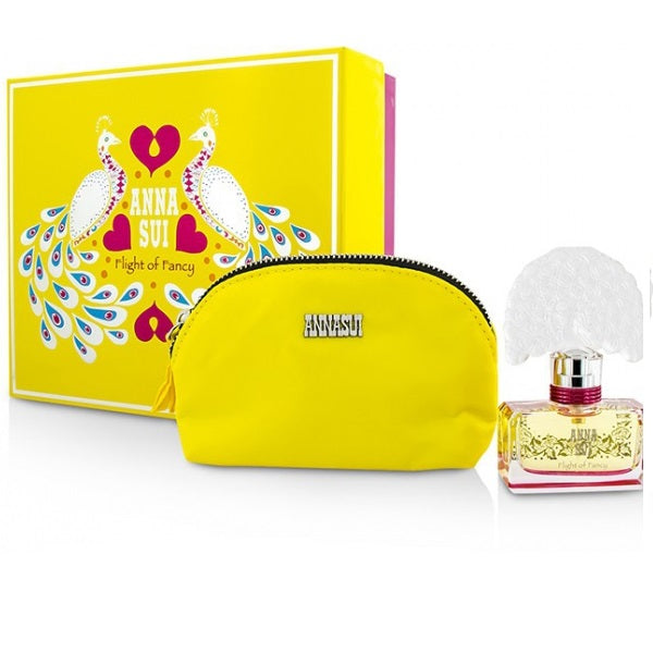 Anna Sui Flight Of Fancy Gift Set 30ml EDT + Pouch