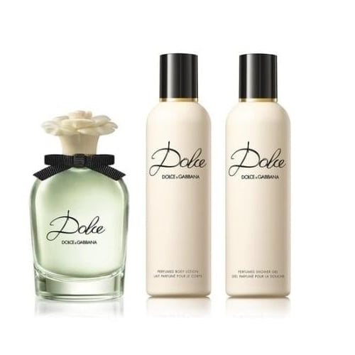 Dolce & Gabbana Dolce Gift Set 75ml EDP + Body Lotion 100ml + Shower Gel 100ml