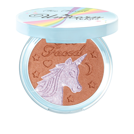 Too Faced Unicorn Tears Bronzer Iridescent Mystical Bronzer