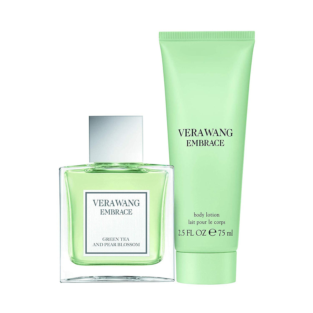 Vera Wang Embrace Green Tea And Pear Blossom Gift Set 30ml EDT + Body Lotion 75ml