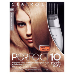 Clairol Nice'n Easy Perfect 10 Permanent Hair Colour - Champagne Blonde 8.5A - Look Incredible