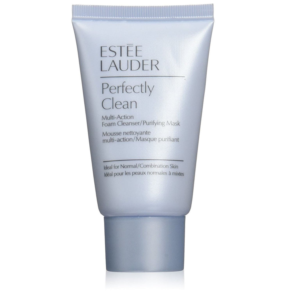 Estee Lauder Perfectly Clean Multi-Action Foam Cleanser/Purifying Mask Travel Size 30ml