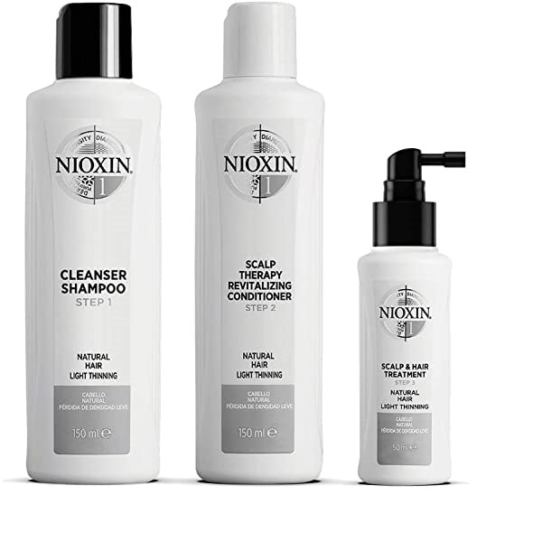 Nioxin 1 Trial Kit System Gift Set 150ml Shampoo + 150ml Conditioner + 50ml Treatment