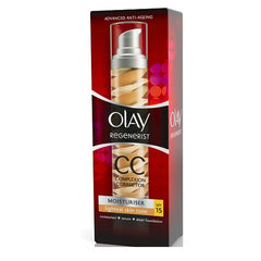 Olay Regenerist Moisturiser Complexion Corrector CC Cream SPF15 - Look Incredible