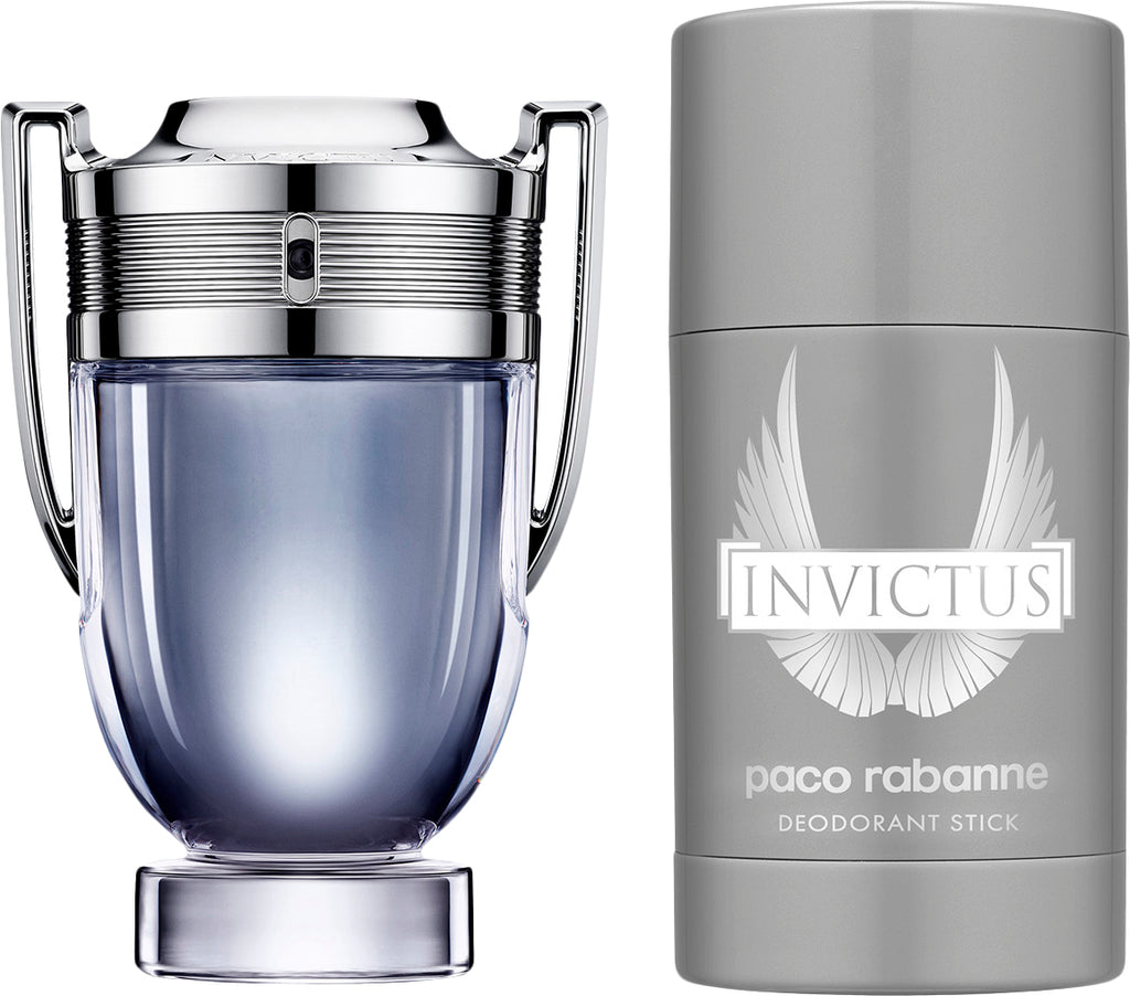 Paco Rabanne Invictus Gift Set 50ml EDT + 75ml Deodorant Stick
