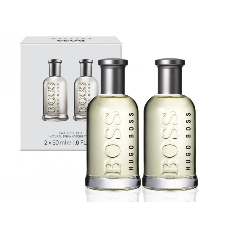Hugo Boss Boss Bottled Eau De Toilette 50ml Duo