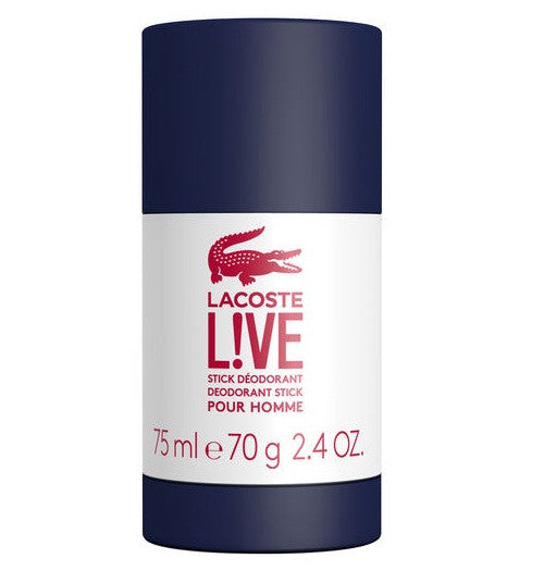 Lacoste Live Deodorant Stick 75ml - Look Incredible