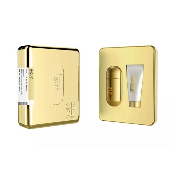 Carolina Herrera 212 VIP Gift Set 50ml EDP + 75ml Body Lotion