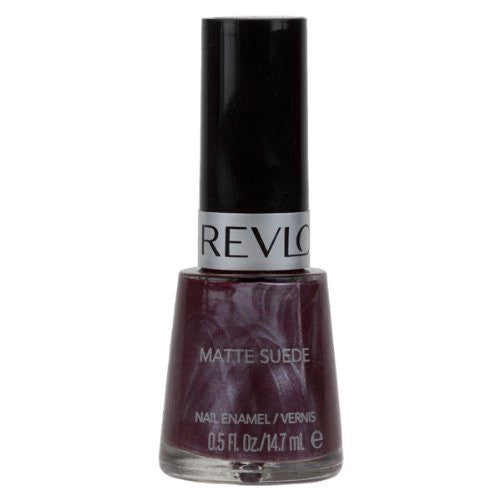 Revlon Matte Suede Nail Polish 14.7ml - 863 Ruby Ribbon - Look Incredible