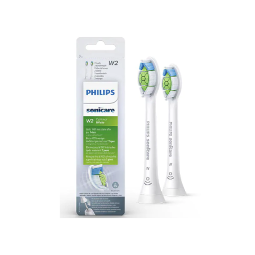Philips Sonicare W2 Optimal White Electric Toothbrush Heads (2 Heads)