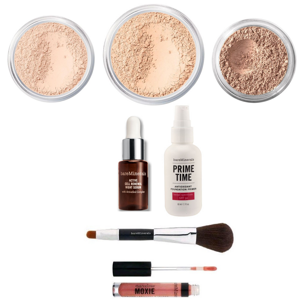 bareMinerals Feel The Love 7-Piece Grand Collection for Face and Lips