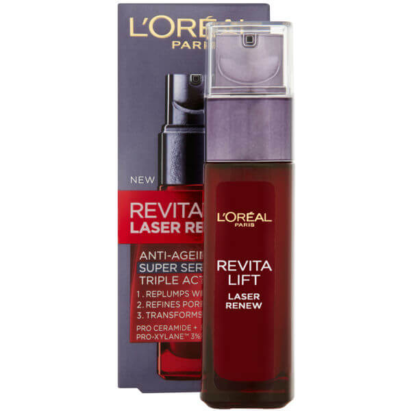 L'Oreal Paris Dermo Expertise Revitalift Laser Renew Anti-ageing Triple Action Super Serum 30ml