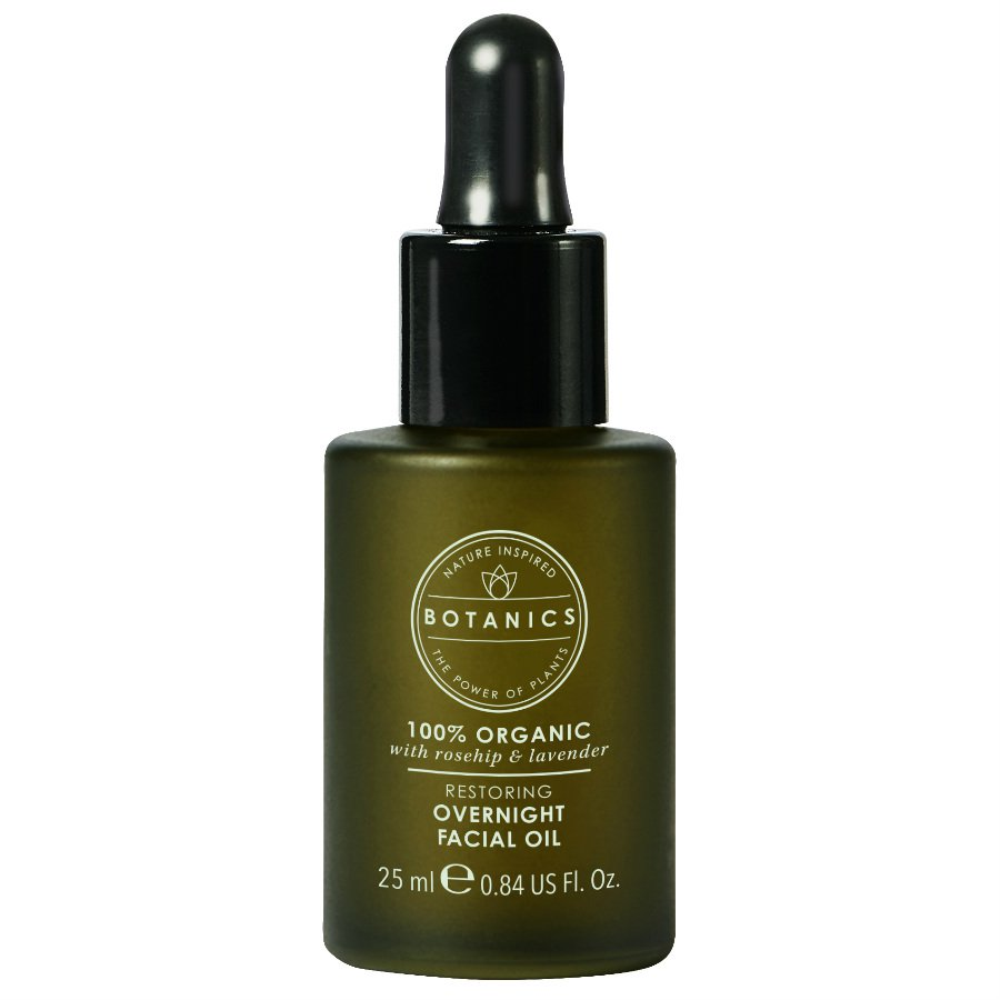 Botanics 100% Organic Restoring Overnight Facial Oil 25ml