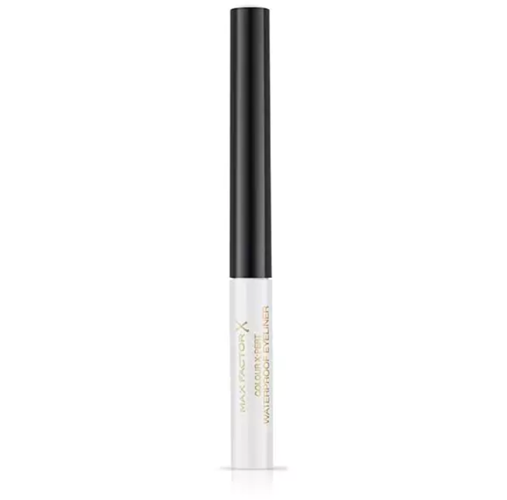 Max Factor Colour X-Pert Waterproof Eye Liner Mettalic White