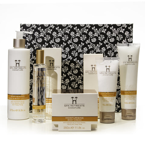 LOOK INCREDIBLE EXCLUSIVE: Spa Retreats Signature 5 Piece Body Collection - smartzprice - 1