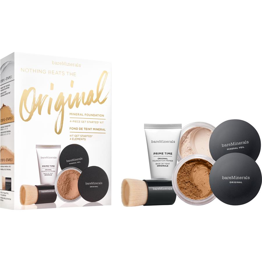 BareMinerals - The Original Mineral Foundation 4-Piece Get Started Kit