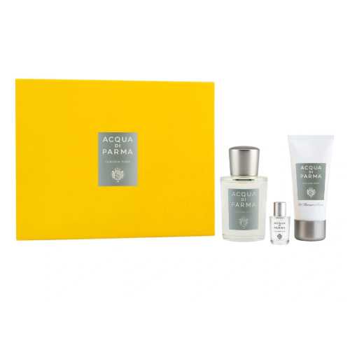 Acqua di Parma Colonia Pura Gift Set 100ml EDC + 50ml Shower Gel + 5ml EDC