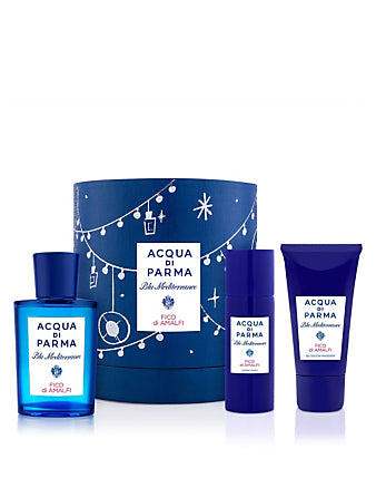 Acqua Di Parma Blu Mediterraneo Fico Di Amalfi Gift Set 75ml EDT + 40ml Shower Gel + 50ml Body Lotion