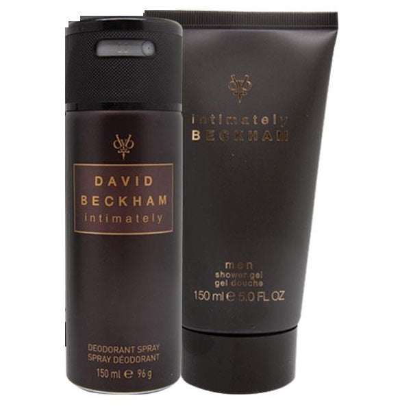 David Beckham Intimately 2 Piece 150ML Deodorant Spray +150ML Shower Gel