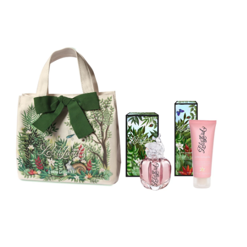 Lolita Lempicka Lolitaland Gift Set 40ml EDP +  75ml Body Lotion + Tote Bag