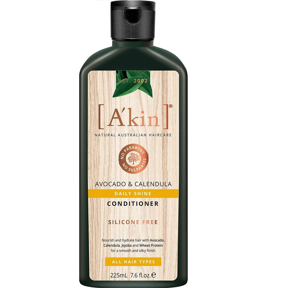 A'Kin Daily Shine Avocado & Calendula Conditioner 225ml