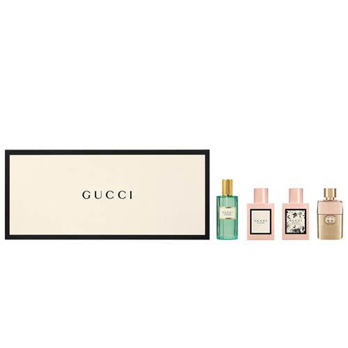 Gucci Womens Miniature Eau De Parfum Set