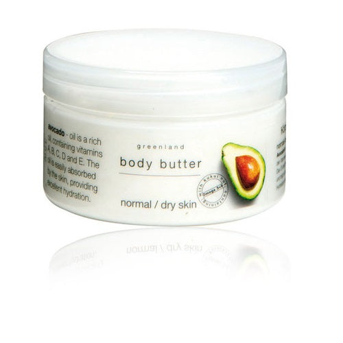 Greenland Avocado Body Butter Normal/Dry Skin With Omega