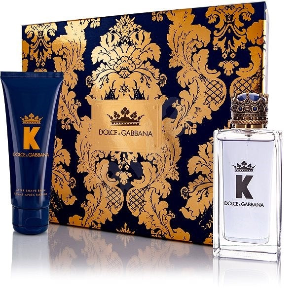 Dolce & Gabbana K Gift Set EDT 100ml + Aftershave Balm 75ml