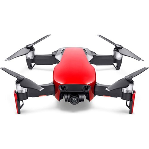 DJI Flame Red Mavic Air Drone Fly More Combo