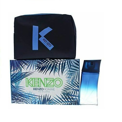 Kenzo Homme Gift Set 100ml EDP + Pouch
