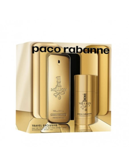 Paco Rabanne 1 Million Gift Set 100ml EDT + 75ml Deodorant Stick