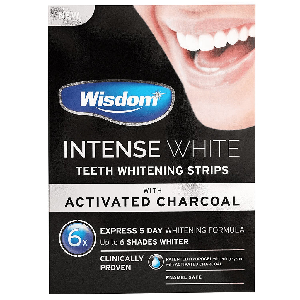 Wisdom Intense White With Activated Charcoal X6