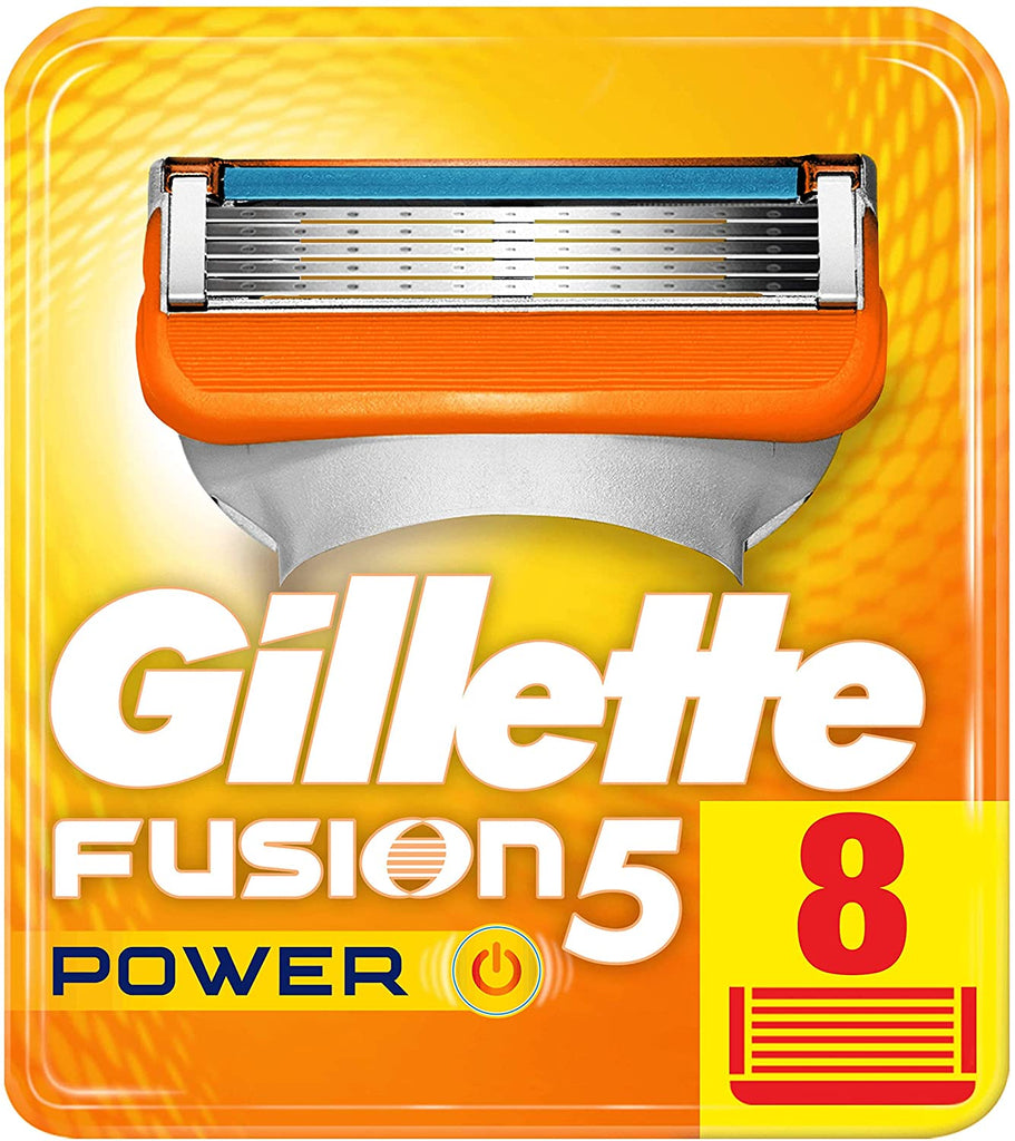 Gillette Fusion Power Razor Blades - Pack of 8