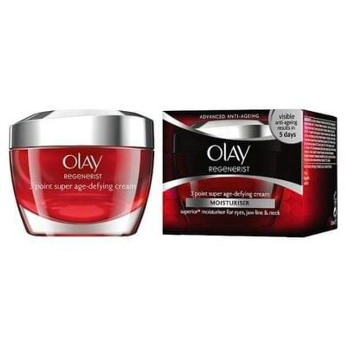 Olay Regenerist Moisturiser 3 Point Treatment Cream 50ml
