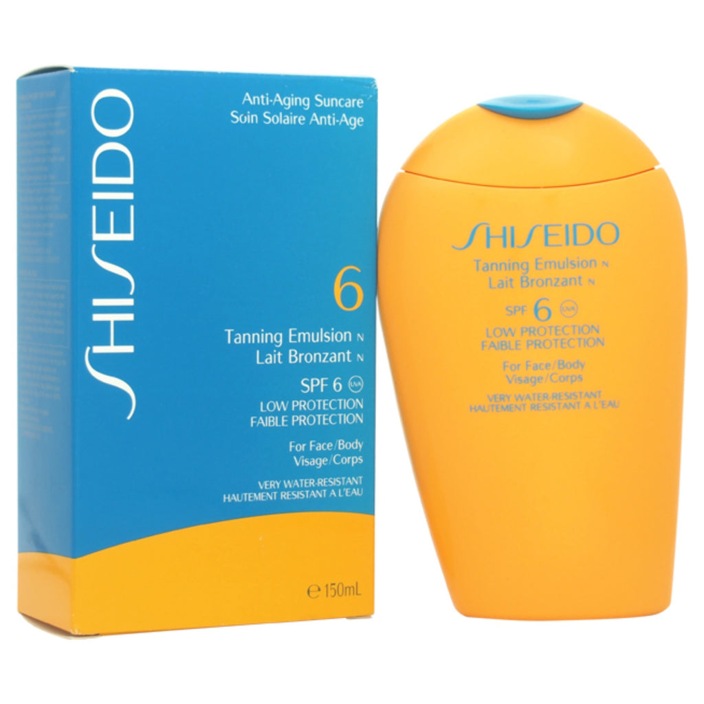 Shiseido Tanning Emulsion SPF 6 150ml