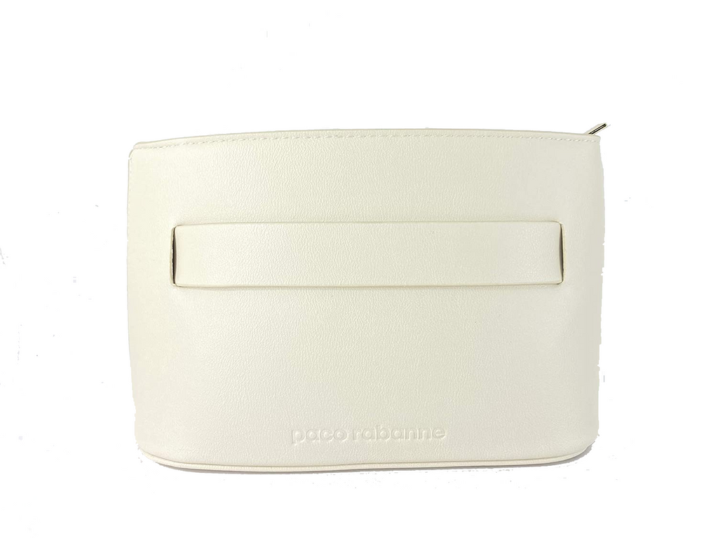 Paco Rabanne Women's Toiletry Travel Overnight Makeup Cosmetic Pouch