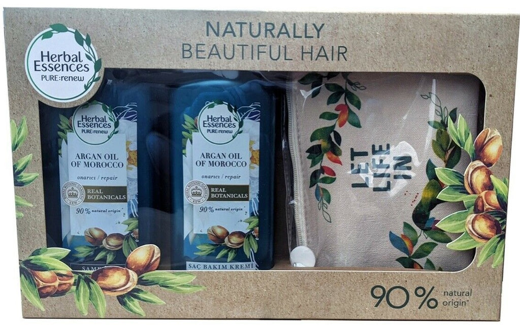 Herbal Essences Pure:Renew Argan Oil of Morocco Hair Repair Treatment for Dry Damaged Hair