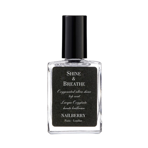 Nailberry Shine & Breathe Oxygenated Top Coat - smartzprice