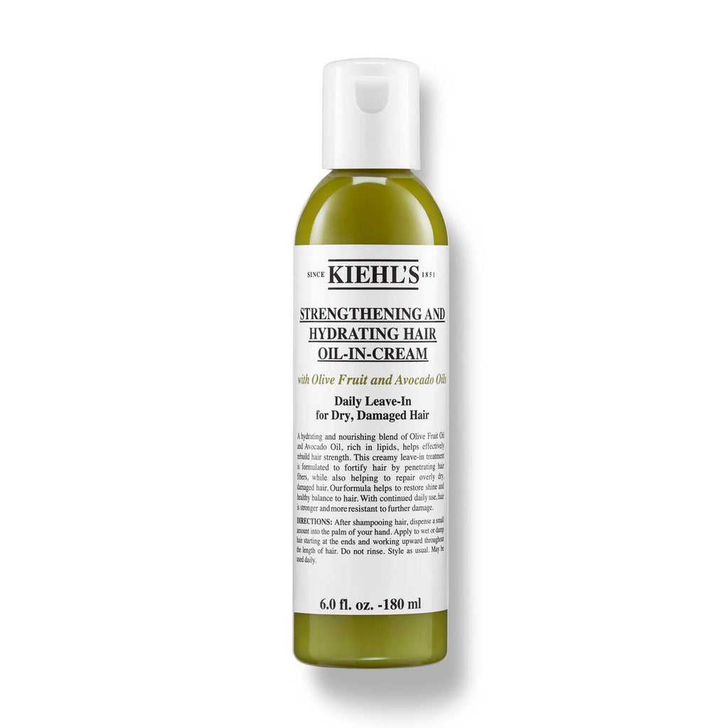 Kiehl's Strengthening & Hydrating Hair Oil in Cream