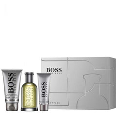 Hugo Boss  Bottled Eau De Toilette 100ml, Shower Gel 50ml & Aftershave Balm 75ml Gift Set