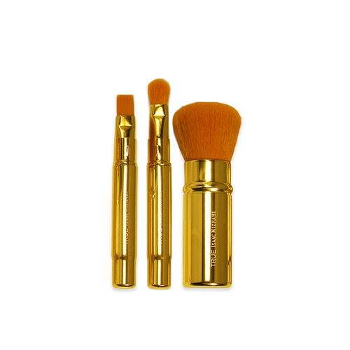 True Isaac Mizrahi Limited Edition Travel Brushes - 3 Piece
